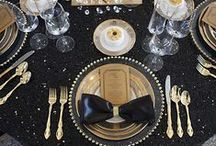 Black & Gold / Modern Black & Gold Wedding Inspo. / by Camarillo Ranch