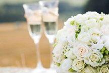 Svatba v barvách smetanová a zlatá