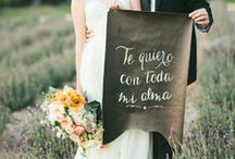 Calligraphy / Cute calligraphy & splendid script ideas for the dreamiest wedding signage. / by Camarillo Ranch