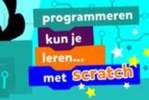 Scratch op Squla / Scratch is een programma waarmee kinderen leren programmeren. Spelletjes, strips en of verhalen, alles wat je kan tekenen of vertellen kun je programmeren tot een game. Scratch werkt een beetje als lego. Je klikt blokjes aan elkaar om dingen te bouwen. De blokjes kan je steeds op verschillende manieren gebruiken. Met de Scratch quizzen op Squla leren leerlingen spelenderwijs hoe je kunt programmeren. Scratch bevat 3 quizzen en 2 video's en is beschikbaar voor groep 5 t/m 8.