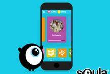 Squla Apps / Squla is niet alleen via de computer te spelen, maar ook via iPad en Android tablets. Onze game ontwikkelaars en onderwijsspecialisten werken continu aan de (door)ontwikkeling van apps voor tablets. Deze apps bevatten dezelfde educatieve content en motiverende spelelementen als de website, zodat uw kinderen altijd en overal kunnen oefenen met onze leerzame quizzen en oefengames. Sommige apps zijn alleen te gebruiken met een lidmaatschap en andere zijn gratis voor iedereen.