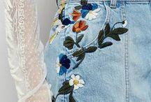 Nähtrends   Stickereien / Inspiration für bestickte Modeteile