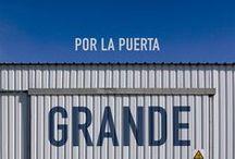 Por la puerta grande (Through the big door) / A shortfilm by David Pantaleón