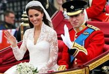 A Royal Affair / Royal couples celebrating love in lavish and opulent style. A look at royal celebrity weddings from around the world of past and present.