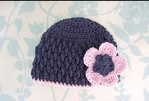 Crochet hats and scarf / by Mini Gauthier