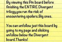 Divergent / Divergent. Insurgent. Allegiant. Four: A Divergent Collection. Veronica Roth.  / by Annika Heim