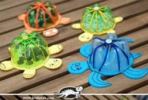RECYLovaná tvorba / Nápady na tvorbu ve výtvarné výchově z recyklovaných materiálů.