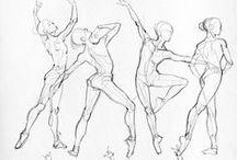 KRESBA - tréning kresby lidské postavy