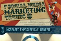 Online Marketing & Infographics / by Cobba's Infographic & Media Solutions
