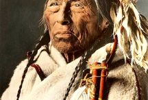Native American History & Photos / Humankind has not woven the web of life.  We are but one thread within it....All things are bound together. All things connected. Chief Seattle, 1854. / by Cindy Plain