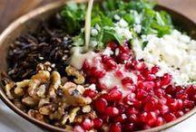  {Salads Recipes}  / Healthy living; various salad recipes.