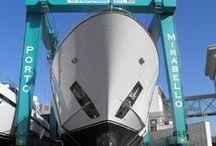 SHIPYARD IN PORTOMIRABELLO / SHIPYARD FOR YACHTS AND #SUPERYACHTS IN #PORTOMIRABELLO ITALY  http://www.portomirabello.it
