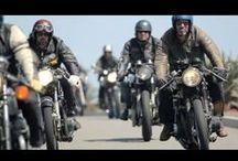Motocyklowy klimat i styl / Klimatyczne kadry, stylowe dodatki i akcesoria