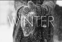 """Téli mesevilág // Winter wonderland / """"A tél puha takaróként nehezedik a világra, lelassít minket, hogy csodáljuk és észrevegyük, ami még a miénk, és megsirassuk azt, ami már elmúlt... """""""