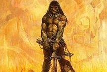 Barbarian / Conan created by Robert E Howard / by Trace Hamilton