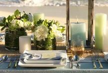 TABLE SETTING ON YACHT / inspiration for table setting, tableware for your yacht  / by Porto Mirabello Yachting in Luxury