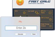 Fast Calc Electricians Calculators on iPhone & Mac / Electricians calculators on iPhone and Mac http://www.icertifi.co.uk/fastcalc.html