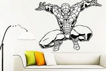 wall decals superhero