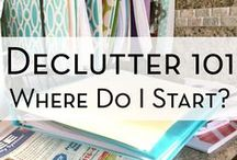 OCD - Organize, Clean & Declutter! / Yes - I admit it - I'm a bit OCD - especially when it comes to organizing/categorizing things!!! I actually love being like this ... but I have to DECLUTTER because I have so much junk I can't get it organized!