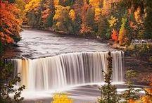 Nature's Beauty - Waterfalls