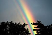 Nature's Beauty - Storms & Rainbows