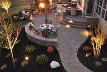 """Backyard Dreamin' / Outdoor Living / This is for all those Outdoor """"rooms"""" ...  living/seating areas, kitchens, decks, porches, patios, fire pit areas, etc. If any of this was in my yard I would spend a lot more time outdoors!!"""