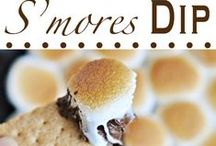 Gimme s'more S'mores!  / I love a S'more!  All that messy, gooey, chocolatey goodness!! Mmmmmm!!  ~~  And judging by the amount of different recipes I have found to pin... Apparently a LOT of people share my love of them!  / by Brenda Keeney-Jessie