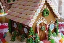 Gingerbread Houses / Gingerbread houses in all shapes & sizes / by Sue Evans