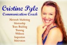 My Brand / Network Marketing leader, trainer, and board member with Essante Organics; Mommypreneur; and wellness advocate. http://CristinePyle.com  / by Cristine Pyle
