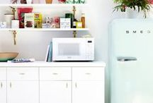 Ode to Smeg / Too small, too expensive... will probably only be in my life via pintrest... a Smeg fridge!