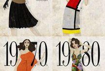 Vintage women's clothes (focusing on evening wear)