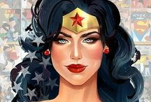 Wonder Woman / The mighty ans iconic Wonder Woman !