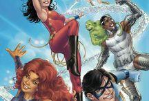 Teen Titans / The Teen Titans DC comics