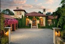 Spanish & Mediterranean / Examples of Spanish and Mediterranean architecture found in the Santa Barbara and Montecito area.