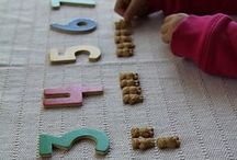 Math Games for Kids / Teach your preschooler to count, read numbers, and develop cardinal and spatial skills in a creative way!