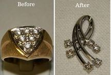 Custom Jewelry Pieces / Here at Diana Jewelers, we can make custom made pieces that fit your wants so that it is a one of a kind piece.