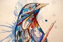 Art--Sketchbooks, Art Journals, Notebooks-4 / by Janet Campbell