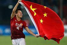 Asian Footballers / A board on Asian footballers
