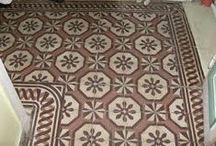 Old classic floor