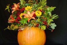 Halloween! / Ideas for flowers at Halloween