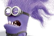 DIY Purple (Evil) Minion Costume Ideas / Costume Ideas for assembling a purple minion a.k.a the evil minion using ordinary clothing items with a few special extra items. Also included are fun ideas for doing more with these very silly crazy purple minions. {From The Costume Detective and HealthfulMD.HubPages.com formerly Comfortdoc.Squidoo.com}