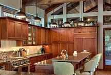 Kitchen Designs For Your Home / These are some fabulous ideas for your home!  The kitchen is the heart of your home.