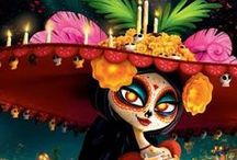 The Book of Life Movie Costume and Craft Ideas / Costume Ideas for making or modifying costumes for The Book of Life Movie, La Muerta and Maria. Includes fun craft ideas. Based on traditional costumes and makeup for Dia de los Muertos or Day of the Dead. {From The CostumeDetective.com and HealthfulMD.HubPages.com formerly Comfortdoc.Squidoo.com}