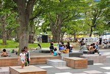ESPAÇO PÚBLICO / área verdes públicas e mobiliário urbano