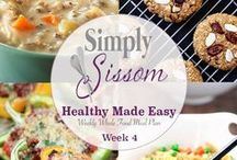 Meal Plans / Simple whole-food meal plans for your family.