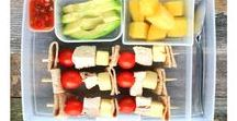Lunchbox Ideas. / Simple whole food lunchbox ideas and inspiration.