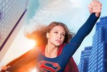 DIY Supergirl Costume Ideas for TV's Female Superhero / Costume ideas to make your own Supergirl Costume like Melissa Benoist's crime fighting suit from the new Supergirl CBS Television show that follows Superman's cousin Kara Zor-El. Make, modify or mash-up your own empowered, G-rated crime-fighting, female super hero, Supergirl TV costume for girls, tweens, teens or adults.