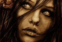 Yağlı Boya Kadın / kadın