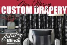 ARTISTRY BLINDS - DRAPERIES, BEDDING & LINENS AND UPHOLSTERY / ARTISTRY BLINDS - DRAPERIES, BEDDING & LINENS AND UPHOLSTERY
