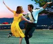 DIY La La Land Movie Costumes / Costume ideas for the retro, romantic, stylish, dapper and color-popping looks in the 2016 La La Land film from Lionsgate. Make, modify or mash-up costumes for Mia played by Emma Stone, Sebastian played by Ryan Gosling and the other La La Land dream seekers. Costumes designed by Mary Zophres paying homage to the classic movie musical costume looks of the 1950s and 1960s.